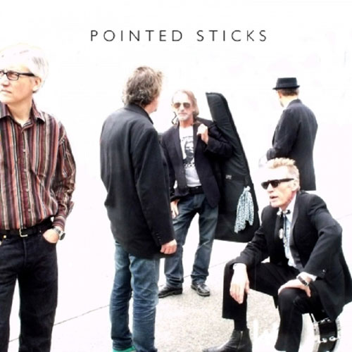 Pointed Sticks Self Titled CD Cover