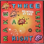 Pointed Sticks - Three Lefts Make A Right CD