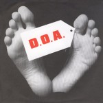 "DOA - The Prisoner/13 7"" original 1978"
