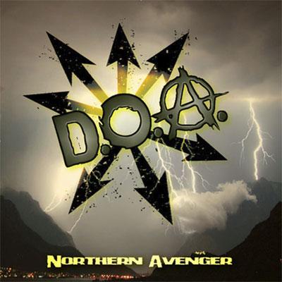Sudden Death Records Doa Northern Avenger Lp