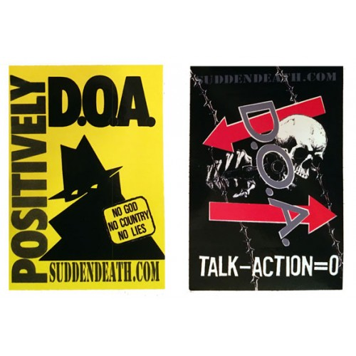 DOA Stickers
